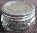 Half-pint mason jar